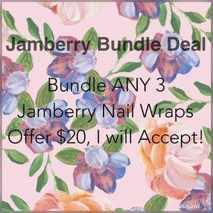 Jamberry Makeup - 3/$20✨Exclusive Jamberry Nails Wrap 💅 Full Set